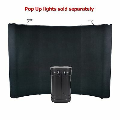10' Wave Pop Up Panel Display (Hook & Loop)