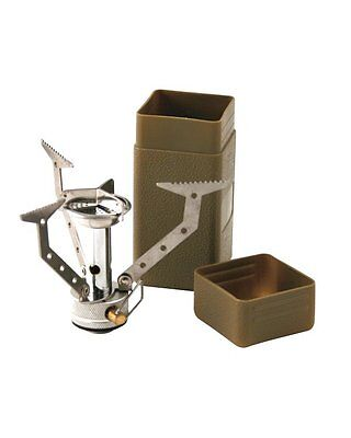Commando Compact Stove Lightweight Camping Cooker Army Military Survival