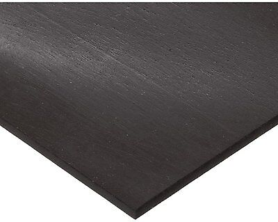 Polyurethane Sheet No Backing 60A Durometer Smooth ASTM D-624 Black