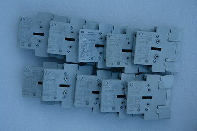 GE BCLL11 Auxiliary Contact and GE BELA02 (Lots of 10)