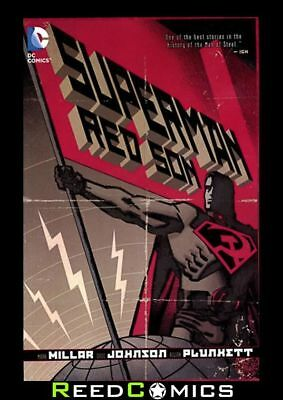 SUPERMAN RED SON GRAPHIC NOVEL New Paperback Mark Millar Collects Issues #1-3