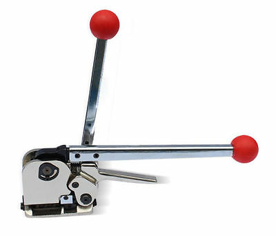 Manual Buckle Free Steel Belt Strapping machine GD35 Sealless Strapping Tool