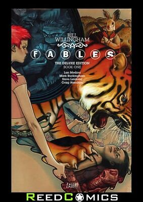 FABLES VOLUME 1 DELUXE HARDCOVER New Hardback Collects Issues #1-10