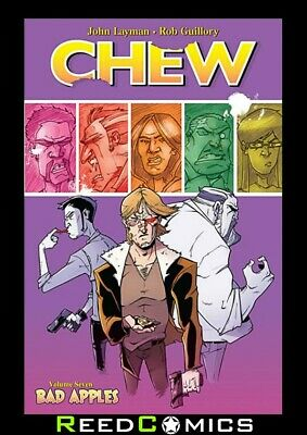 CHEW VOLUME 7 BAD APPLES GRAPHIC NOVEL New Paperback Collects Issues #31-35