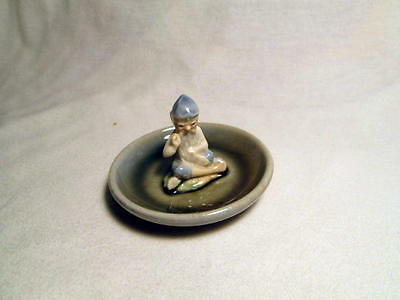 Wade Lucky Leprechaun Pin Tray - Tailer With Blue Hat