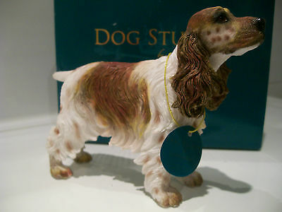 Liver Roan Cocker Spaniel Ornament Gift Figure Figurine *New in box*