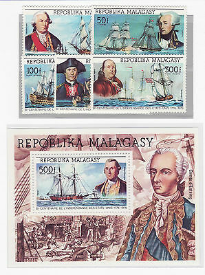 Malagasy navi stamps