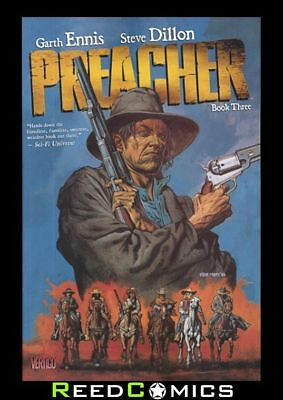 PREACHER BOOK 3 GRAPHIC NOVEL New Paperback Collects 27-33, Saint of Killers 1-4