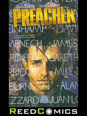 PREACHER BOOK 5 GRAPHIC NOVEL New Paperback Collects Issues #41-54 Garth Ennis