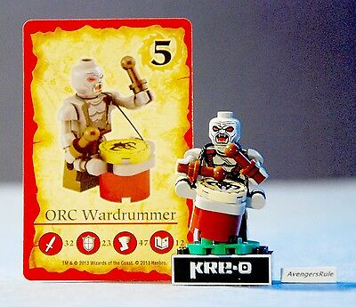 Kre-O Dungeons & Dragons Series Collection 1 Orc Wardrummer