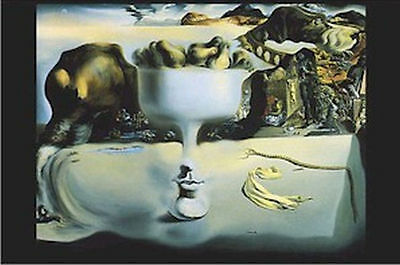DALI - APPARITION OF FACE & FRUIT ART POSTER - 24x36 SHRINK WRAPPED - PRINT 3253