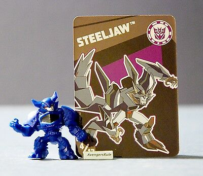 Transformers Tiny Titans Series 1 Robots in Disguise 4/12 Steeljaw