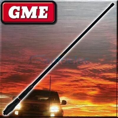 Gme Ae4705B 6.6Dbi Black Heavy Duty Uhf Cb Radio Antenna Bull Bar Fiberglass New
