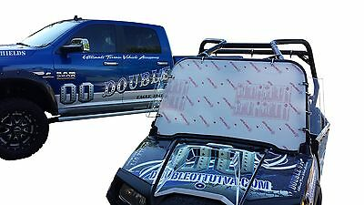 """RZR 800 570 FULL W/S 1/4"""" thick & better than 1/5"""" & 3/16"""" THIN IMPORTED W/S's"""