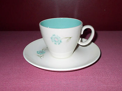 Vintage Taylor Smith Taylor CUP with SAUCER Boutonniere EVER YOURS