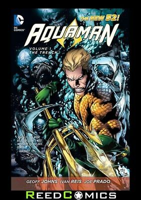 AQUAMAN VOLUME 1 THE TRENCH GRAPHIC NOVEL New Paperback Collects Issues #1-6