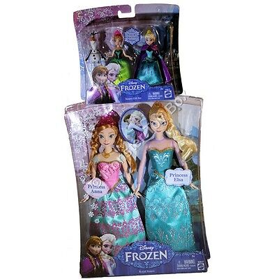 DISNEY FROZEN ELSA & ANNA ROYAL SISTERS & SISTERS GIFT SET WITH OLAF