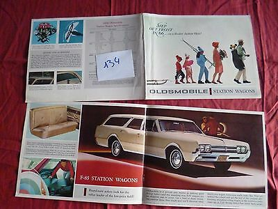 134 / OLDSMOBILE : catalogue station wagons 1966