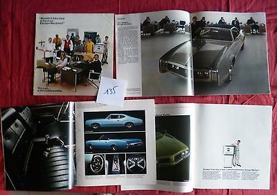 135 / OLDSMOBILE : catalogue gamme 1970  english text
