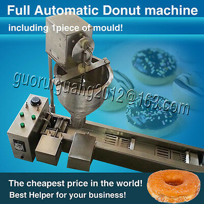 with 1 free Mold,free DHL shipping,Cake Donut Maker Machine Doughnut Fryer