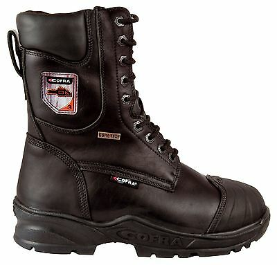 Cofra Energy Chainsaw Goretex Leather Boots - EN381 Class 3  Water Resistant