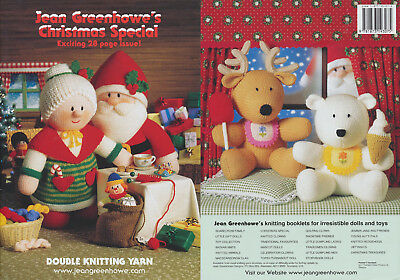 Jean Greenhowe Christmas Special Knitting Book Double Knit Colourful DK Patterns