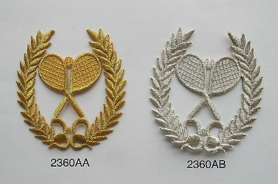"""3.75/"""" x 3.75/"""" Olive Green Laurel Wreath Embroidery Patch SCA"""