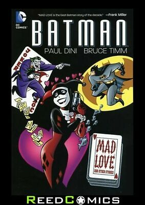 BATMAN MAD LOVE and OTHER STORIES GRAPHIC NOVEL New Paperback Bruce Timm