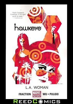 HAWKEYE VOLUME 3 LA WOMAN GRAPHIC NOVEL Paperback Collects (2012) #14-20, Annual