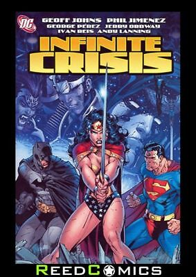 INFINITE CRISIS GRAPHIC NOVEL New Paperback Collects 7 Part Series Geoff Johns