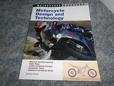MOTORCYCLE DESIGN and TECHNOLOGY BOOK by COCCO MOTORBOOKS WORKSHOP 2004
