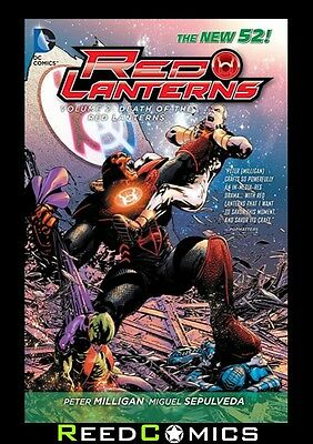 RED LANTERNS VOLUME 2 THE DEATH OF THE RED LANTERNS GRAPHIC NOVEL Paperback 8-12