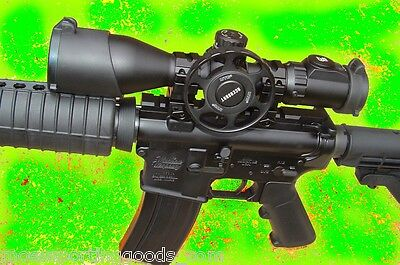 UTG RIFLE SCOPE Red Laser Combo 3-12X44 Compact NEW with Pressure