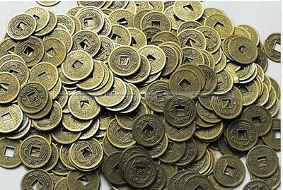 100PCS Feng Shui Chinese QING Coins / Lucky Ching Coin for Fortune