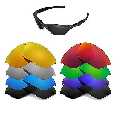 Walleva Replacement Lenses for Oakley Half Jacket 2.0 - Multiple Options