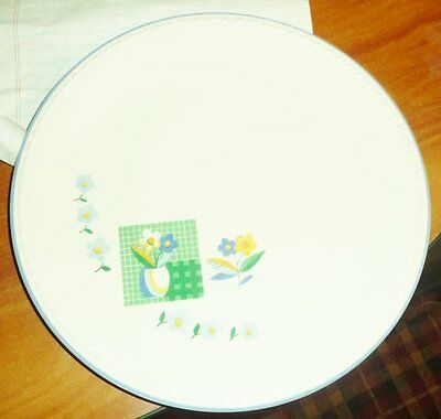 "Taylor Smith Taylor Floral Dinner Plate 9-1/4"" Diameter Fifth Avenue Numbered"