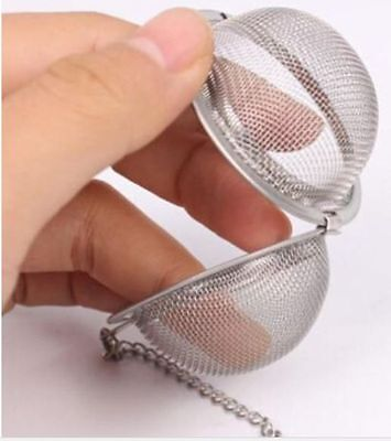 Tea ball Loose Tea Leaf Strainer Herbal Spice Infuser Filter Diffuser fine mesh