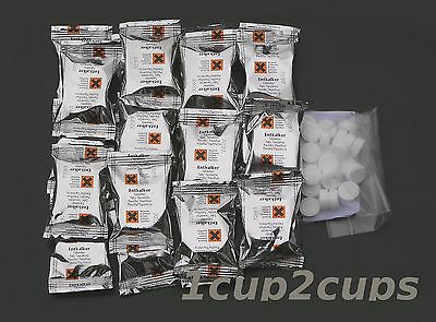 10 Descaling +10 Cleaning tablets for Jura, Krups, Magimix, AEG, Melitta