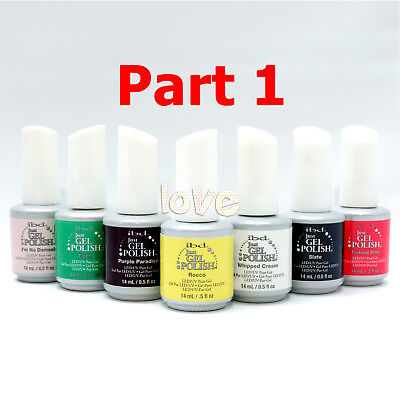 IBD Just Gel Polish Soak Off Color 15ml/0.5fl.oz *Part 1 / Choose Any Color