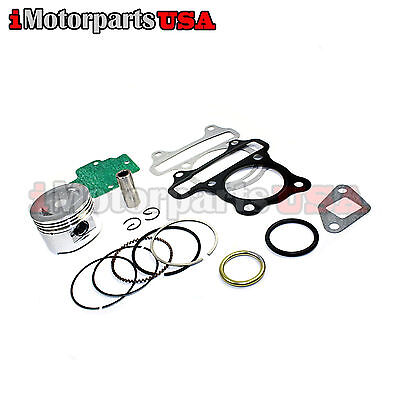 47Mm Gy6 80Cc Piston Set W/ Head Exhaust Gasket For 139Qmb Big Bore Kit Cylinder