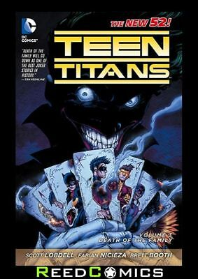 TEEN TITANS VOLUME 3 DEATH OF THE FAMILY GRAPHIC NOVEL (2011 Series) Paperback