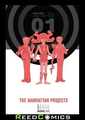 THE MANHATTAN PROJECTS VOLUME 1 OVERSIZED HARDCOVER New Hardback Collects #1-10
