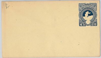 HONDURAS - - POSTAL STATIONERY Cover: Higgings & Gage # 10 - COLUMBUS
