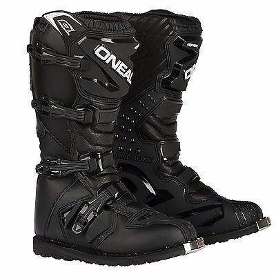Oneal Rider Motorcycle Motocross Enduro Boots - Black