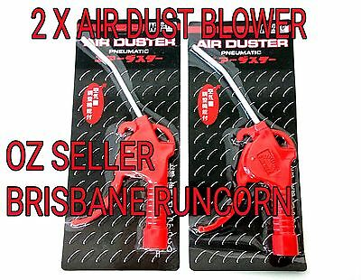2 x Air dust blower gun duster compressor gun plastic