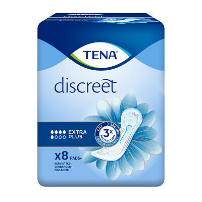 TENA Lady Extra Plus - Pack of 8
