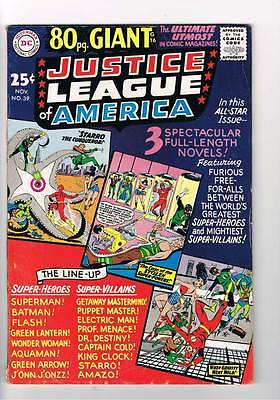 Justice League of America # 39  80 page Giant  grade 4.5 scarce hot book !!