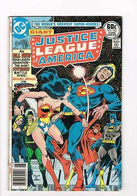 Justice League of America # 143 A Tale of Two Satellites grade 5.5 hot book !!