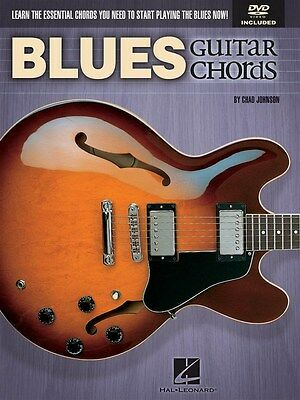 Chad Johnson: Blues Guitar Chords Gitarre Notenbuch, DVD (Region 0)