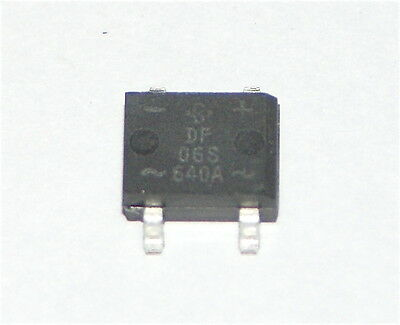 Bridge Rectifier Df06S Smd Vishay 1A 600V Single Phase - 25 Pieces Df06S-E3/77